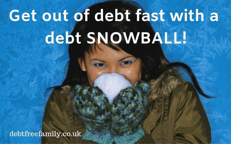 debt snowball, what's a debt snowball, do debt snowballs work,