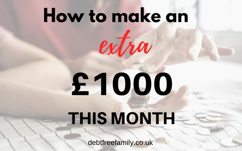 make money online, make £1000 this month, extra cash, make money