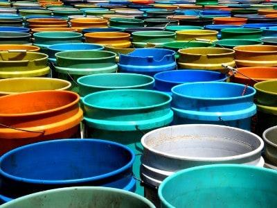 bucket saving method