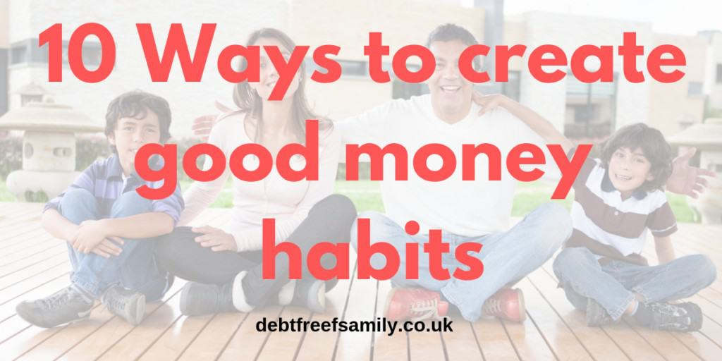 build good money habits, 10 ways to build good money habits, money habits, habits money, habits in money
