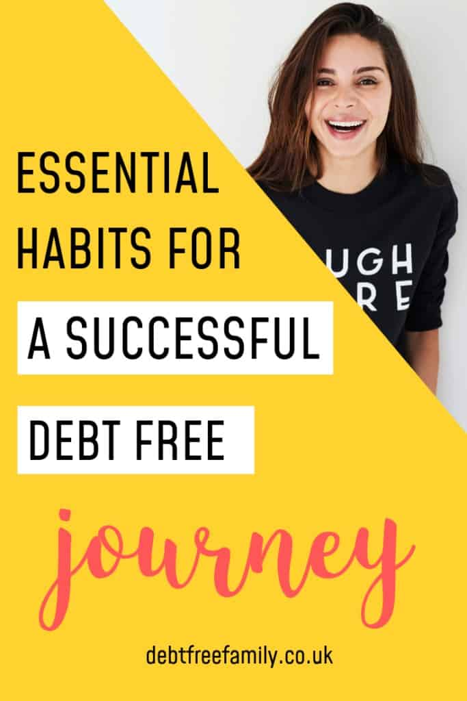 live debt free, debt free journey, how to get debt free
