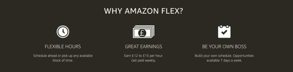 whats amazon flex, how do i join amazon flex, how much can i make with amazon flex