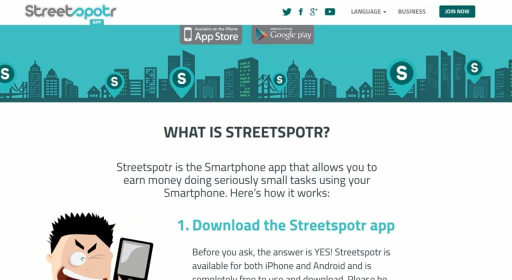 earn money with street spotr, whats street spotr, how much do you earn with street spotr
