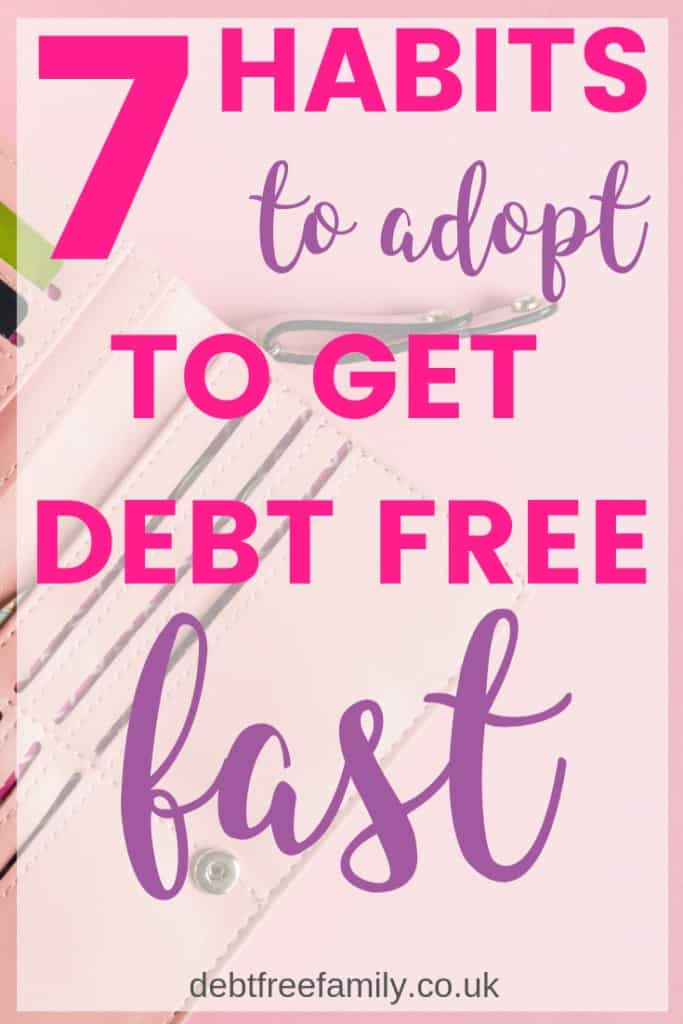 live debt free, live debt free, debt free journey, how to get debt free