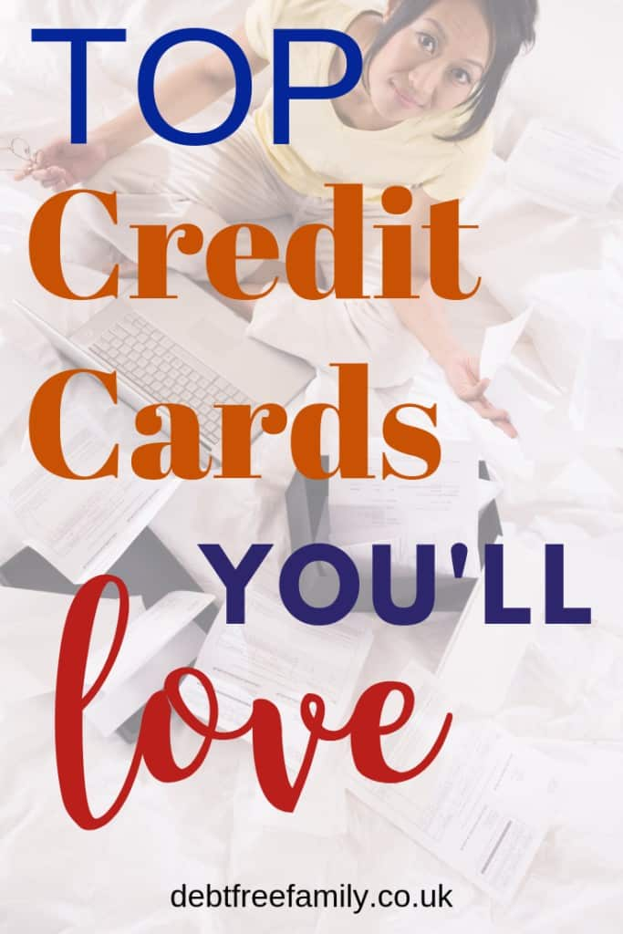 debt free family, debt free living, top credit cards, credit cards, how to use credit cards well, are credit cards bad,