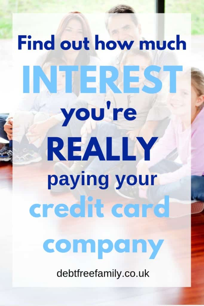 credit card interest, how much credit card interest do you pay,  credit card interest calculator,