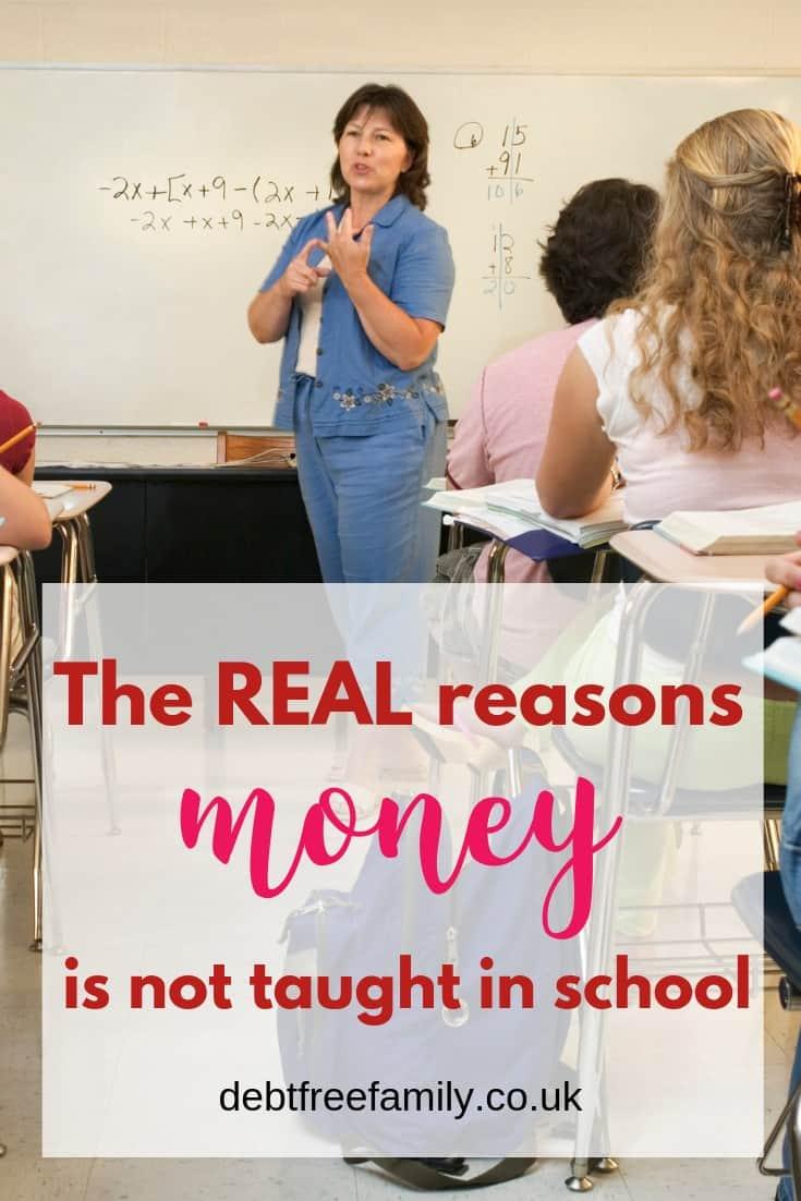 school money, why is money not taught in school, money school, school budgeting, learning to budget in school,