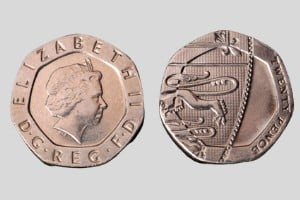 whats the rarest uk coin