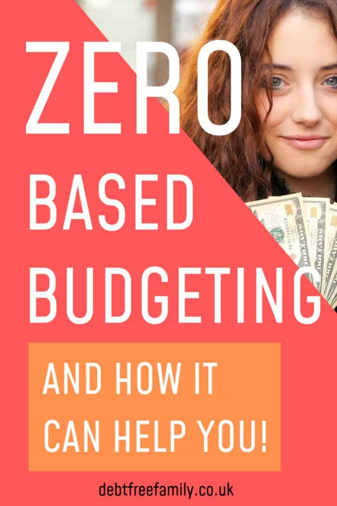 Dave Ramsey promotes the idea of a zero- based budget to help get rid of debt. To understand what this is, you first need to understand the formula: Monthly income – monthly expenses = zero  This means that if you earn £2000 a month, you should list £2000 a month in expenses. Even if you have less than this, Ramsey says to find a place or a role for it, so that your formula still equates to zero. Learn more with our post from The Frugal Frenchie! #debtfreefamily #daveramsey #zerobasedbudget