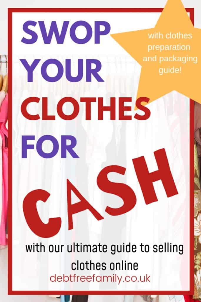 Selling clothes online is easier than it's ever been. There's no longer any reason for you to have a crammed wardrobe full of clothes you never wear.  I've put together a list of the most popular places people visit to buy and sell clothes, so you can start making a profit straight away.  #debtfreefamily #sellingclothesonline #cashforclothes #sellingoldclothes #sellingclothes