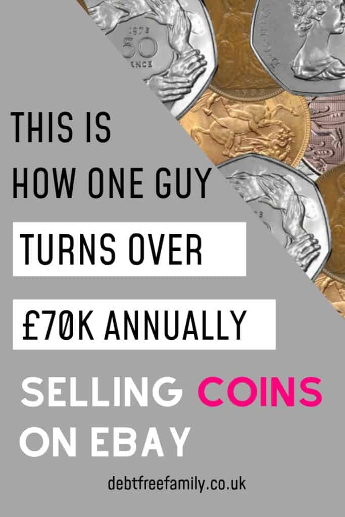 Read the incredible story of the guy turning over £70k annually selling rare UK coins on eBay. Learn how you can get started selling the most valuable UK coins, and what to do if you come across a rare coin!
