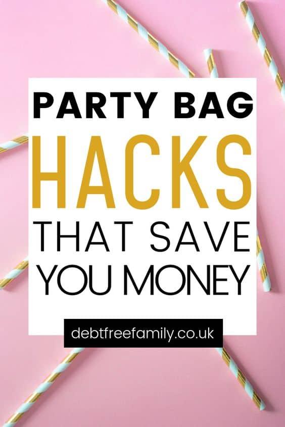 party bag hacks