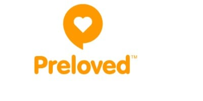 preloved logo for buying and selling clothes online for cash
