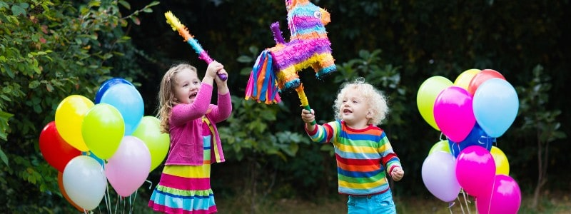 Throwing a party at home for your child? We've got indoor and outdoor games for kids of all ages, that don't cost a lot, stick to your budget and the kids will love!