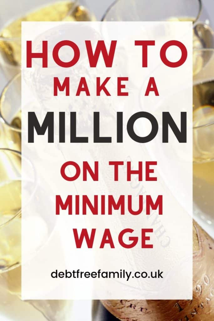 How to make a million pounds. Making a million pounds requires an income, some laser focus and a plan!