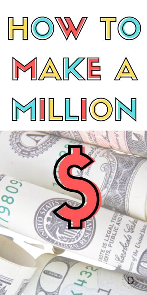 making a million from nothing