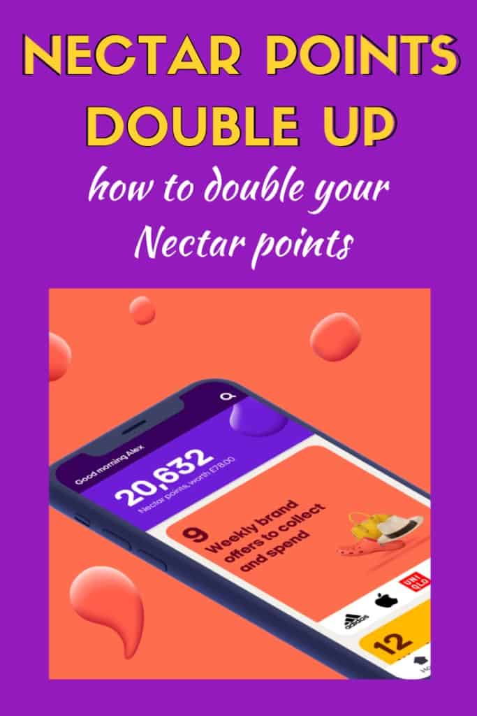 nectar points double up 2020