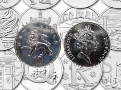 rare 10p coins