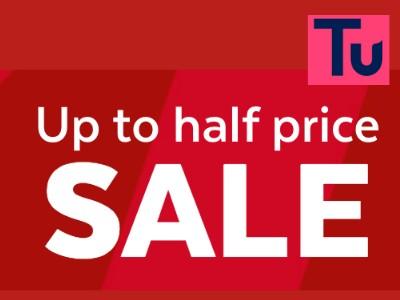 sainsburys tu 25% off sale