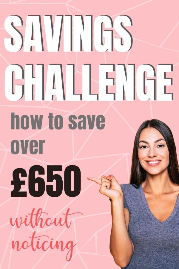 1p a day savings challenge