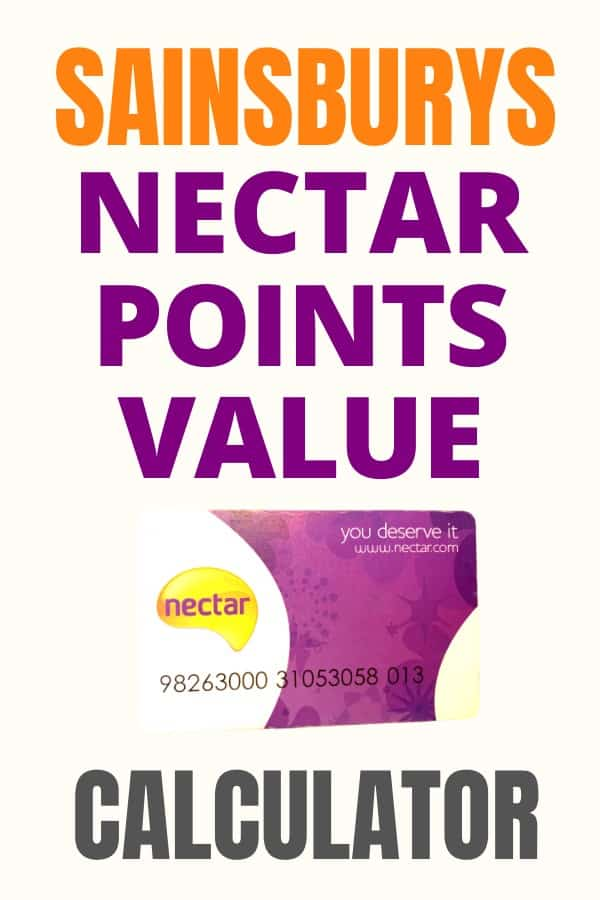 nectar points calculator