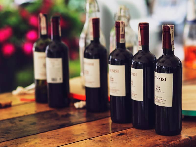 introductory wine offers image of wine bottles