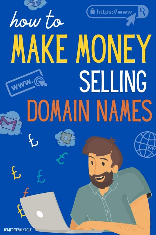 sell domain names for profit