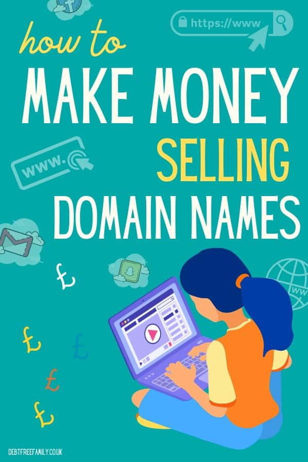 how to sell domain names for money