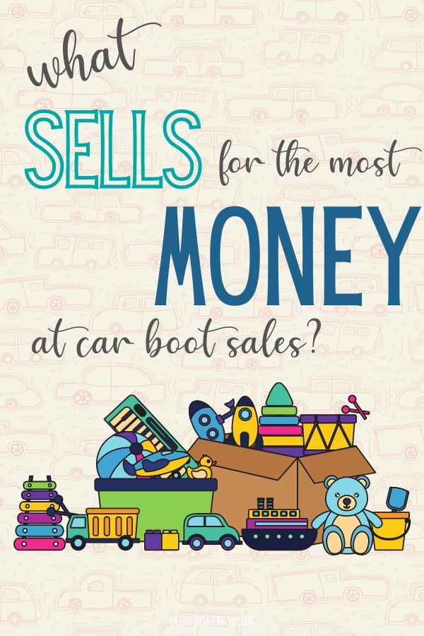 what to sell at a car boot sale