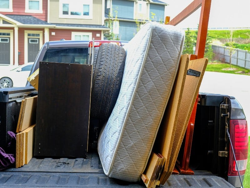 how to dispose of a mattress for free uk